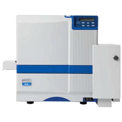 Datacard RP90i FINANCIAL CARD PRINTER video printer with IAT magnetic stripe encoding