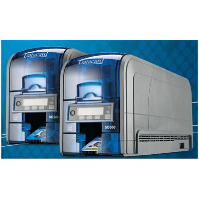 Datacard SD260 CARD PRINTER video printers with simplex card printing