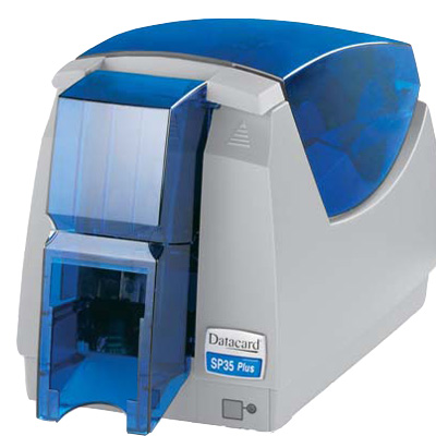 Datacard SP35 PLUS CARD PRINTER with multiple options and capabilities