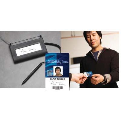 Datacard TRU SIGNATURE SOLUTION for electronic signature capture