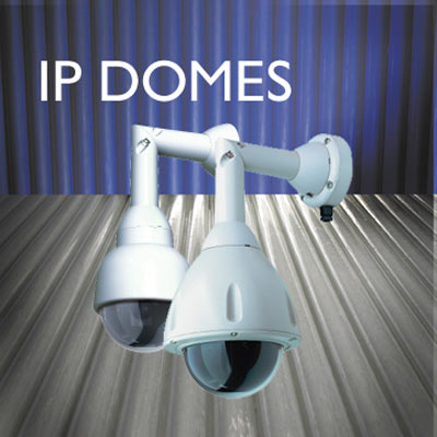 Vandal resilient Dennard IP domes from Dedicated Micros