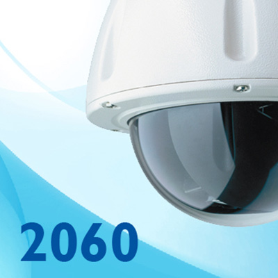 Dedicated Micros DM/2060-203 x18 optical zoom outdoor dome camera