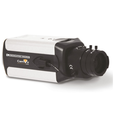 Dedicated Micros DM/CMVU500 IP camera with 1/4 inch chip