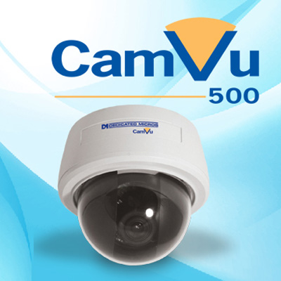 Dedicated Micros DM/CMVU500DN video motion detection activity detection