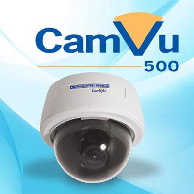 Dedicated Micros DM/CMVUVRD500 1/4-inch 480 TVL vandal resistant IP mini-dome