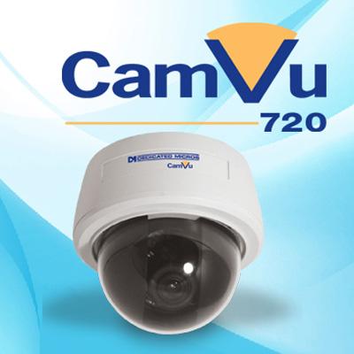 Dedicated Micros DM/CMVUVRD720 1/3-inch high definition vandal resistant IP mini-dome