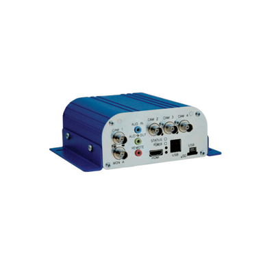 Dedicated Micros DM-DVIP-NV1video server with connectivity of up to 4 analogue or 8 IP cameras