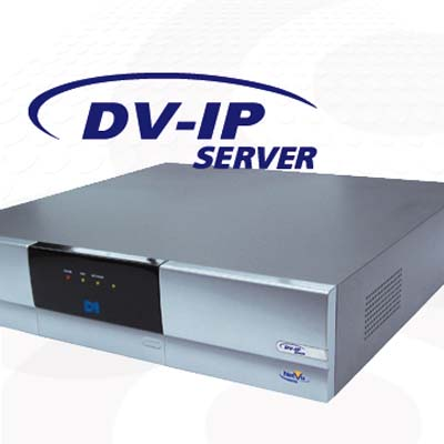 Dedicated Micros DV-IP Server with 8 channels and 500 GB HDD, 60 days storage