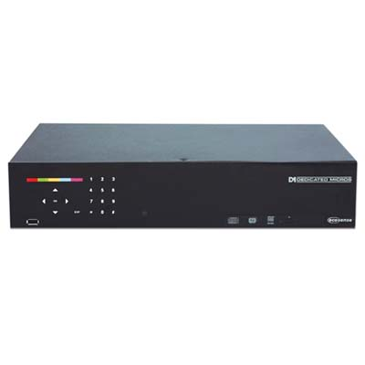 Dedicated Micros DM/ECS1/500/08 8 channel DVR with 500 GB storage and activity detection