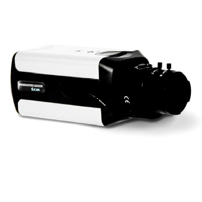Dedicated Micros DM/ICE+B2XHT/L monochrome CCTV camera with peak white inversion - AC and DC
