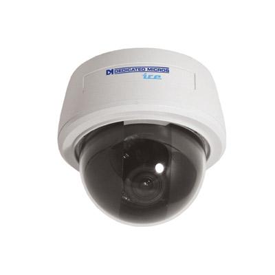 Dedicated Micros DM/ICED-HYPER dome camera with 480 TVL