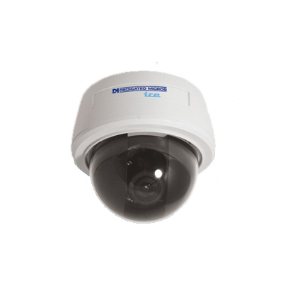 Dedicated Micros DM/ICEDVS-BH39 is a vandal resistant monochrome camera with 570 TVL