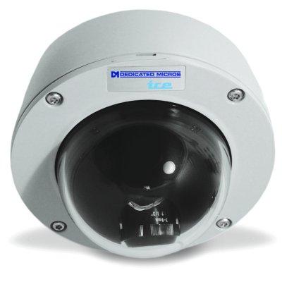 "Dedicated Micros DM/ICEVC-CMH39 Ice Range Ceiling Mount 1/3"" 480 TVL 0.7 lux varifocal 3-9mm Auto Iris"