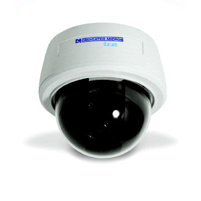 "Dedicated Micros DM/ICEVS-Hyper Ice Range Surface Mount HyperDome, 1/3"", 480 TVL, 1 lux, varifocal 3-9mm"