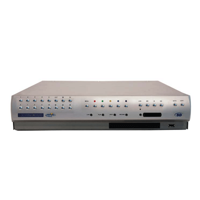 Dedicated Micros DM-SD16MIN digital video recorders with front panel control