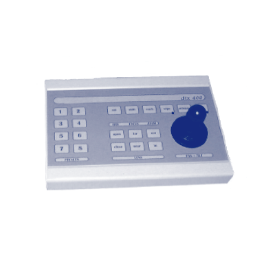 Dedicated Micros dtx400 telemetry transmitter and controller with ergonomic wipe clean keyboard and 8 presets