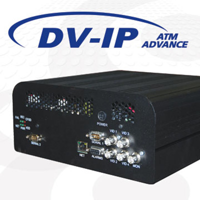 Dedicated Micros DV-IP ATM ADVANCE 4 channel hybrid DVR/NVR