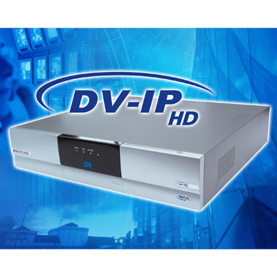 Dedicated Micros presents the DV-IP HD network DVR with high definition recording and playback