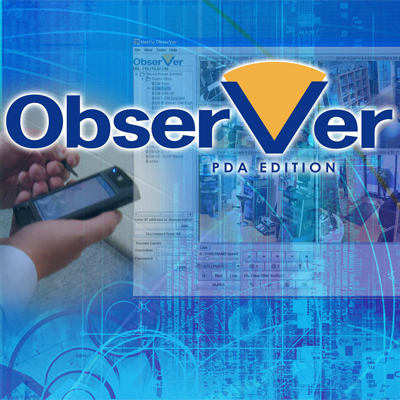 Advanced PDA edition of NetVu ObserVer from Dedicated Micros