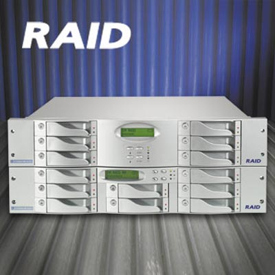 Dedicated Micros RAID R8 4T0 high capacity hard disk storage