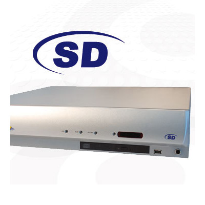 Dedicated Micros SD16 N30 with 30 days recording capacity and 16 video inputs