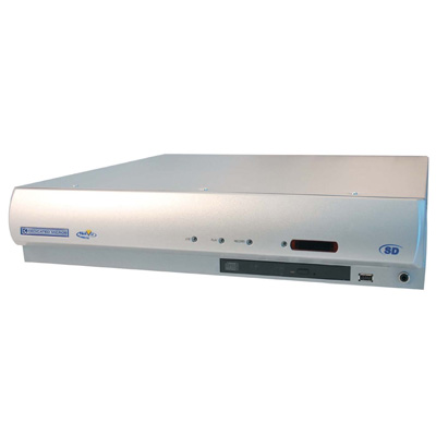 Dedicated Micros SD8 N60 with 60 days recording capacity and 8 video inputs