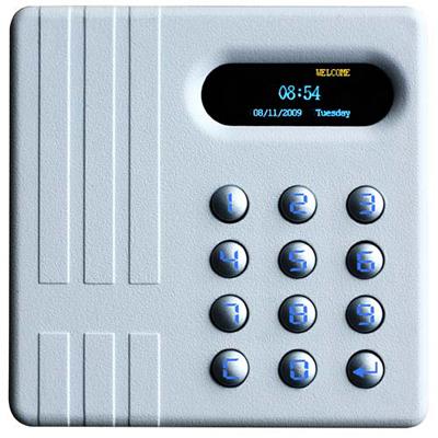 Delos International introduce the DA-302DK/DA-303DK Standalone access control reader