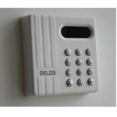 Delos International DA-302K/DA-303K access control reader with integrated keypad