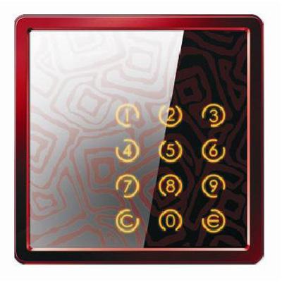 Delos International DR-402K/DR-403K access control reader with built in keypad