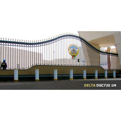 Delta Scientific DSC720 Fixed Post bollard barricade system