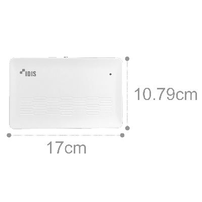 IDIS DR-1304PC 2.5'' HDD 4ch Compact Type DirectIP NVR