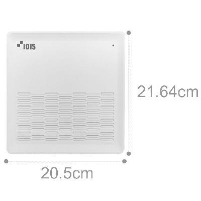 IDIS DR-1308P 3.5'' HDD 8ch DirectIP NVR