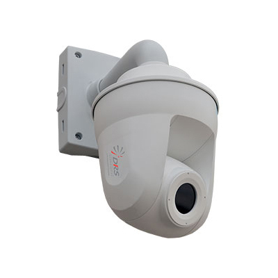 DRS Ultra 6344-N 30 fps thermal IP dome camera with 14.25mm focal length