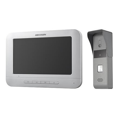 Hikvision DS-KIS203 Audio, video or keypad entry