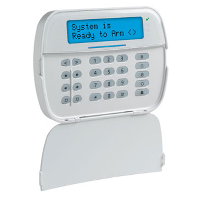 DSC HS2LCDWFP9 wireless full message 2-way wire-free keypad