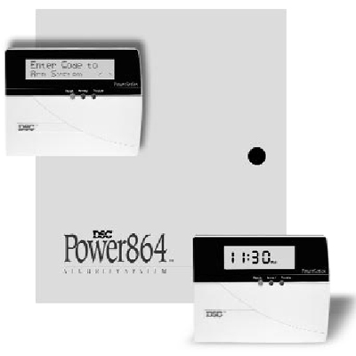 DSC Power864 Intruder alarm system control panel Specifications