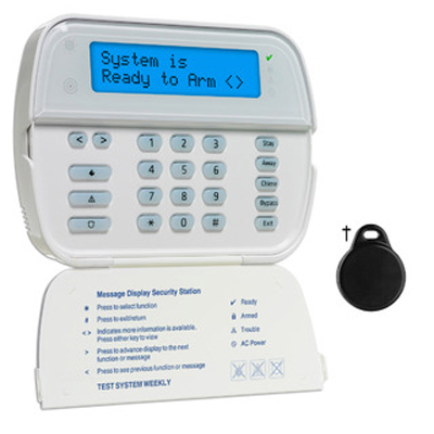 DSC WT5500A 2-way wireless wire-free keypad