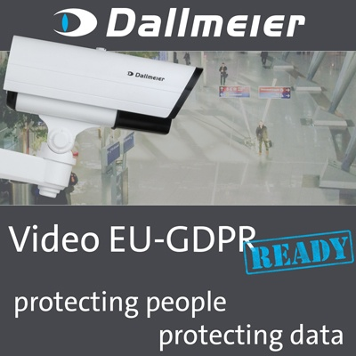 Dallmeier's easy implementation of GDPR-compliant video security equipment