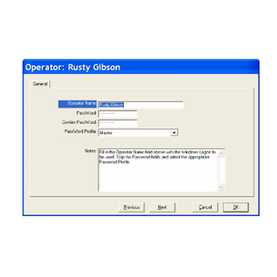 DSX Active Directory Authentication for authenticating operator logins