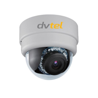 DVTel CM-3211IP dome camera with broadcast quality multi-stream H.264 video