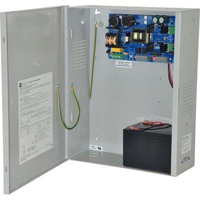 Altronix EFlow102NXV Power Supply Charger, Single Output, 12VDC @ 10A, Aux Output, FAI, LinQ2 Ready, 220VAC, BC400 Enclosure