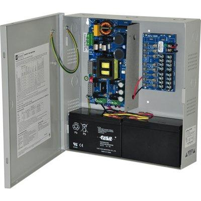 Altronix eFlow104N8 Power Supply Charger, 8 Fused Outputs, 24VDC @ 10A, Aux Output, FAI, LinQ2 Ready, 115VAC, BC300 Enclosure
