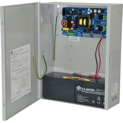Altronix EFlow104NXV Power Supply Charger, Single Output, 24VDC @ 10A, Aux Output, FAI, LinQ2 Ready, 220VAC, BC400 Enclosure