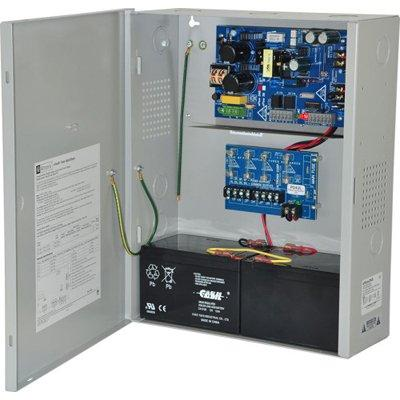 Altronix eFlow3NX4 Power Supply Charger, 4 Fused Outputs, 12/24VDC @ 2A, Aux Output, FAI, LinQ2 Ready, 115VAC, BC400 Enclosure