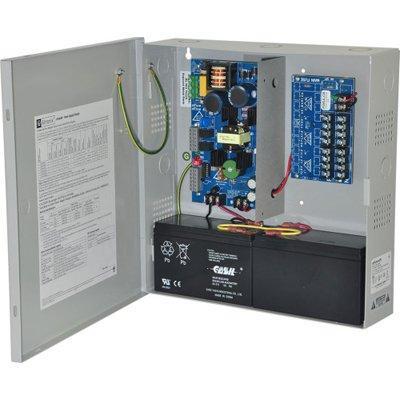 Altronix eFlow4N8DV Power Supply Charger, 8 PTC Class 2 Outputs, 12/24VDC @ 4A, Aux Output, FAI, LinQ2 Ready, 115VAC, BC300 Enclosure