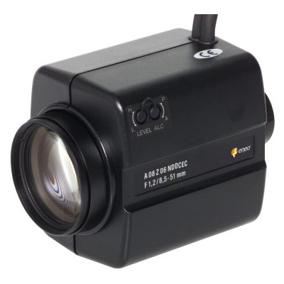 eneo A08Z06NDDCPO DC motor zoom lens with 8.5 ~ 51 mm focal length