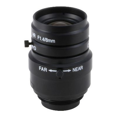 eneo B0814MV-MP high resolution wide angle lens with 8 mm focal length