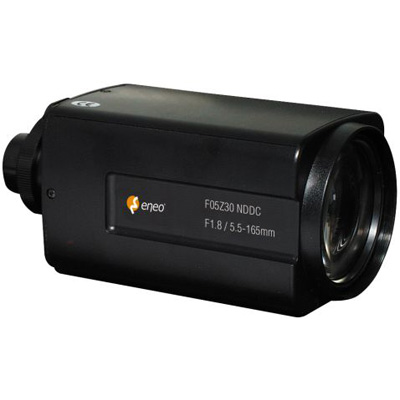 eneo F05Z30NDDCPO DC motor zoom lens with 5.5 ~ 165 mm focal length