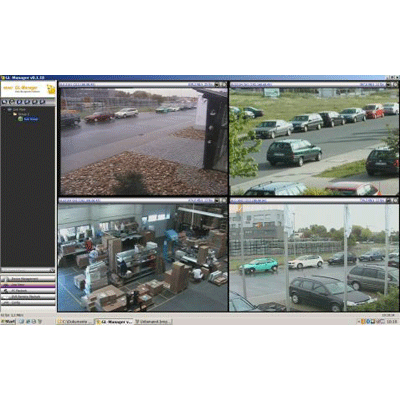 eneo GL CMS-MANAGER CCTV software with fast network accessibility