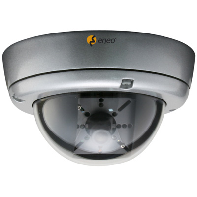 eneo GLD-1401 fixed network colour dome camera with 480 TVL